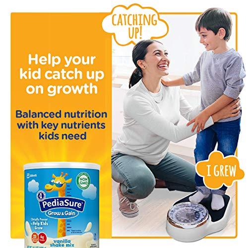 PediaSure Grow & Gain Vanilla Shake Mix, Nutrition Shake for Kids, 14.1 oz, 6 count by Pediasure Powder (Image #3)