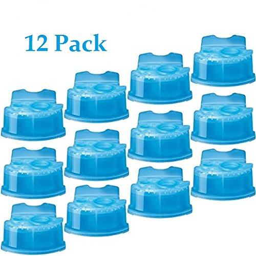 Braun CCR2 CCR-2 Clean & Renew Refill Cartridges (12 Cartridges) by Braun