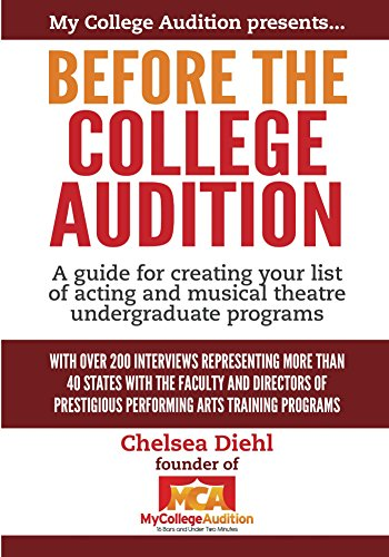 Before the College Audition: A superintend for creating your list of acting and musical theatre undergraduate programs