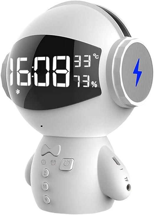 FBGood - Altavoz Bluetooth inalámbrico con Forma de Robot para ...