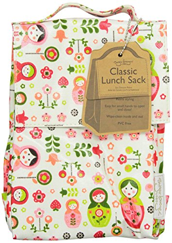 Sugarbooger Classic Lunch Sack, Matryoshka Doll by SUGARBOOGER