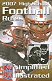 High School Football Rules Simplified and Illustrated, National Federation of State High School Associations, 1582080860