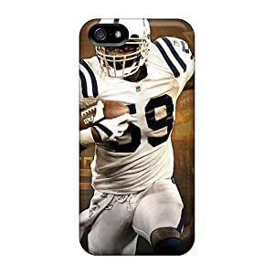 CristinaKlengenberg Iphone 5/5s High Quality Cell-phone Hard Cover Custom HD Indianapolis Colts Series [Noz15238MqLR]