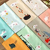 China Chinese Martial Art Shaolin Kung Fu Monk Soldier Traditional Culture Illustration Pattern Glasses Cloth Cleaning Cloth Phone Screen Cleaner 5pcs