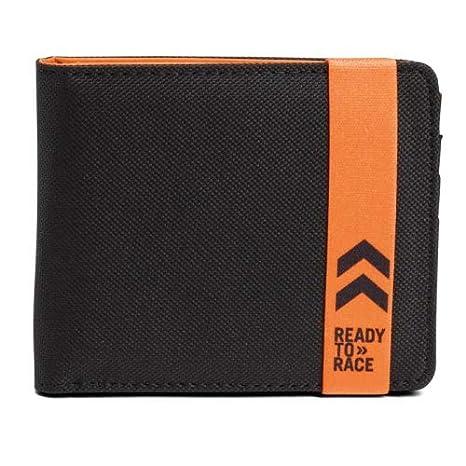 Original KTM Pure Wallet – Cartera para Hombre Negro Naranja