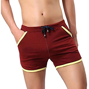 Men's Swimwear, Bokeley Fashion Cotton Swim Short Beach Underwear Sport Shorts Pants
