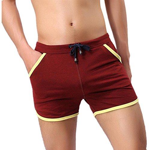 Men's Swimwear, Bokeley Fashion Cotton Swim Short Beach Underwear Sport Shorts Pants (XL, - Swimwear Men New For