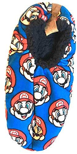 Men's Fuzzy Babba Slipper Socks (L/XL 10-12.5, Super ()