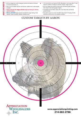 hog paper targets - 2