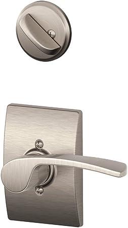 2 SCHLAGE F170 MER 619 RH Lever Lockset,Mechanical,Dummy,Grd