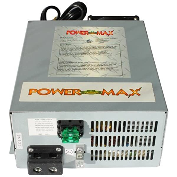 PowerMax PM3-55-MBA Smart Battery Charger Built-in 3 Stage Charging