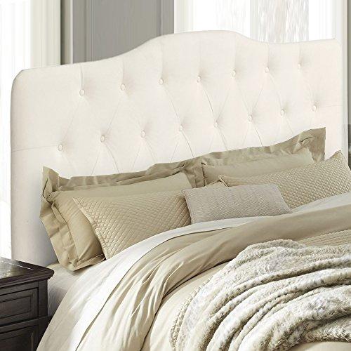 Upholstered Tufted Fabric Headboard (Queen, - Headboard Tufted Queen