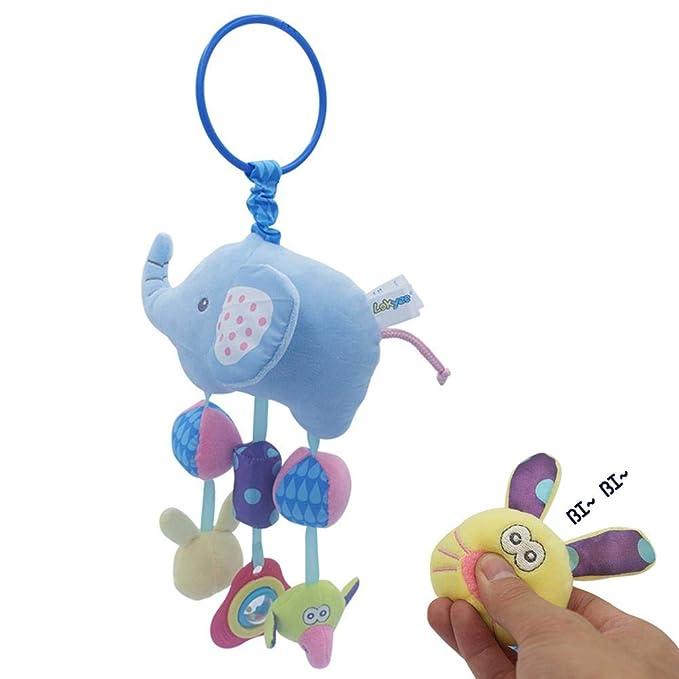 Baby Lern Spielzeug Greifling Activity Spieltiere Klemme unterwegs