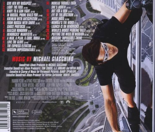 Mission Impossible: Ghost protocol OST [CD]