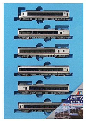 マイクロエース Nゲージ 小田急30000形 EXEα リニューアル 基本6両セット A6596 鉄道模型 電車