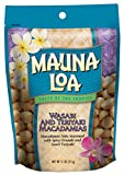 Mauna Loa Wasabi & Teriyaki Macadamia Nuts, 11-Ounce Bag (Pack Of 6)