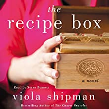 The Recipe Box: A Novel Audiobook by Viola Shipman Narrated by Susan Bennett