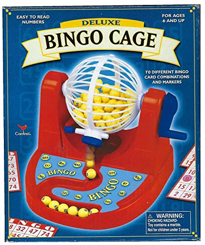 Cage Game Bingo Deluxe (Deluxe Bingo Cage Game - Up to 35 Players (2002))