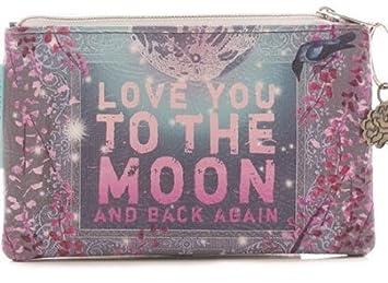 Amazon.com: Papaya Art – Moon and Back pequeño cartera: Beauty