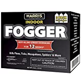 Harris Cypermethrin Insect Fogger, 3 Pack, for Roaches, Fleas, Ticks, Mosquitos, Spiders and More