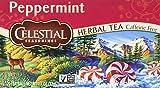 Celestial Seasonings Peppermint Herbal Tea, 20 Count (Pack of 6)