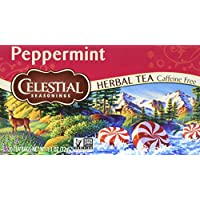 Celestial Seasonings Peppermint Herbal Tea, 20 Count (Pack of 6)