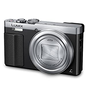 PANASONIC LUMIX ZS50 Camera, 30X LEICA DC Vario-ELMAR Lens, 12.1 Megapixels, High Sensitivity Sensor, Eye Viewfinder, DMC-ZS50S (USA SILVER) from Panasonic