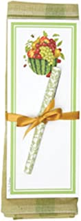 product image for Alice's Cottage Kitchen Towel with Magnetic Note Pad and Pen - Watermelon and Fruit