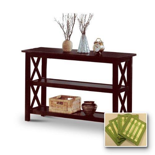 new-cappuccino-espresso-finish-wooden-sofa-table-includes-free-coasters