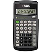 Texas Instruments, Inc Basic Scientific Calculator,Battery,3-1/10x6x4/5,DGY/BK