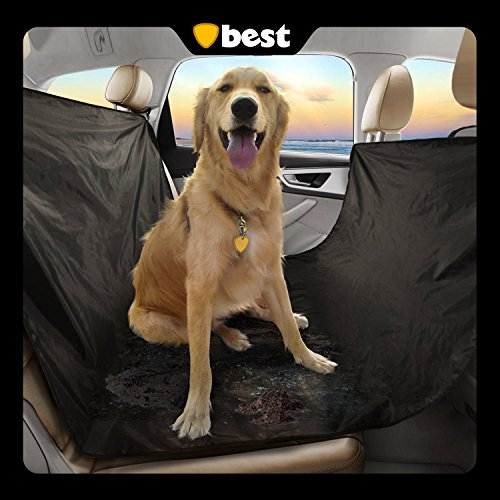 Best Waterproof Pet Seat Cover, 58 x 54-Inch, Black