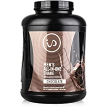 IdealShape Men's All in One Chocolate - Meal Replacement Shake w/Added Protein - Supports Weight Loss & Lean Muscle Mass, Slow Digesting Carbs Keep You Healthy and Full