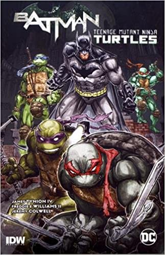 Batman TMNT TP Vol 1 Batman Teenage Mutant Ninja Turtles ...