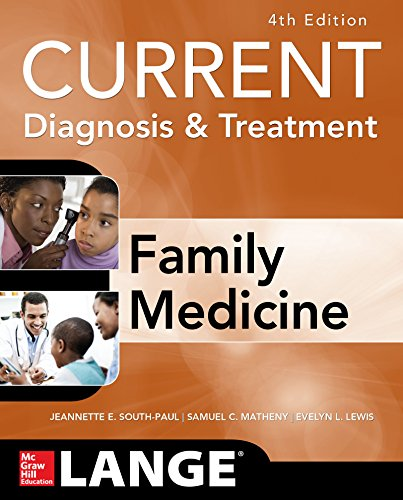 CURRENT Diagnosis & Treatment in Family Medicine, 4th Edition (Lange) Pdf