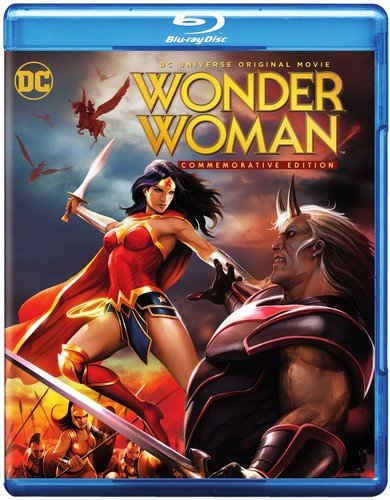 DCU: Wonder Woman Commemorative Edition MFV (BD/DVD Combo) [Blu-ray]