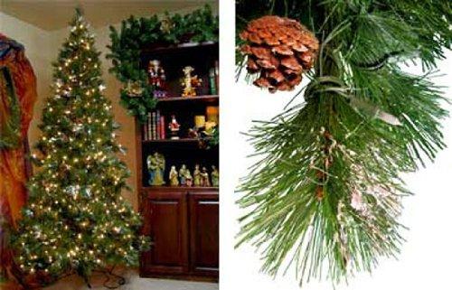 Amazon.com: 9 Ft Snowy Vermont Pine Prelit Artificial Tree [163164 ...