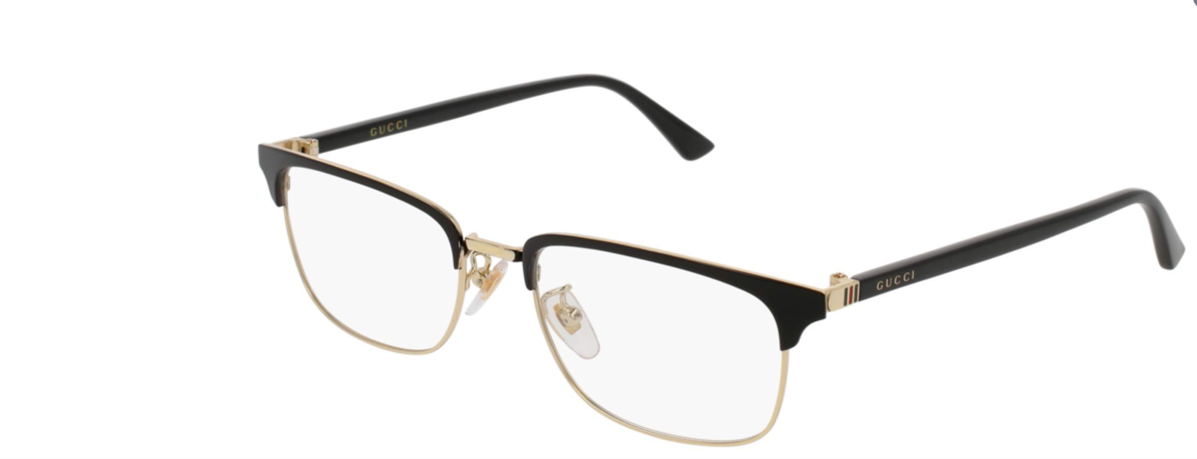 Eyeglasses Gucci GG 0131 O- 001 BLACK / by Gucci