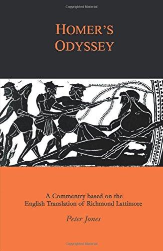 Homer's Odyssey: A Commentary bases on the English Translation of Richmond Lattimore [Homer] (Tapa Blanda)