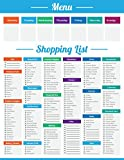 Shopping List Meal Planner Grocery Note Menu