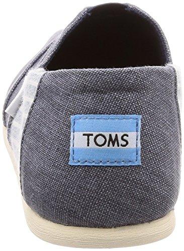 Classics Toms Deep Ocean Alpargatas 1001A07 Stripe Hombre 0d8T7qd