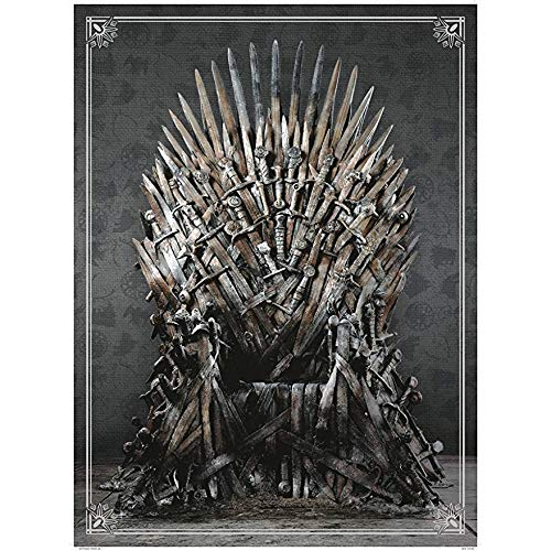 Iron Throne Puzzle 1,000 Pieces Game of Thrones