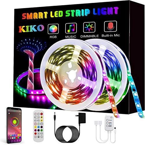 [Amazon.ca] LED Strip Lights, KIKO Smart Color Changing Rope Lights 32.8ft 10m $10.31