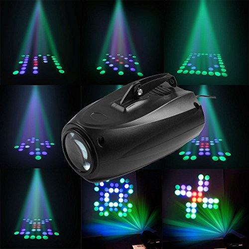 64LED RGBW LED Laser Stage Lighting Club DJ Party Disco Lights KTV Crystal Ball