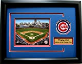 CGI Sports Memories Chicago Cubs Wrigley Field Photo Frame with 3D Double Mat