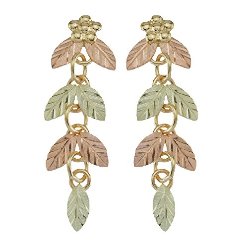 Black Hills Gold Dangle Earrings from Coleman