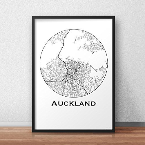 Print auckland new zealand minimalist map a4 a3 a2 city map print auckland new zealand minimalist map a4 a3 a2 city map gumiabroncs Image collections