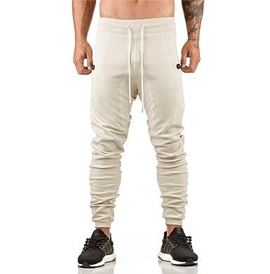 Hombres Pantalones De CháNdal Pantalones Largos CóModos ...