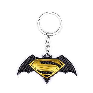 DC Comics Batman Vs Superman Logo Auto/casa/barco llavero w ...