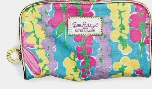522b3741f19c Amazon.com   Estee Lauder Lilly Pulitzer Makeup Bag Spring 2013   Cosmetic  Tote Bags   Beauty