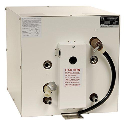 Seaward Boat Water Heater F1150W | Marquis 6209508 White 11 Gal 220V by WHALE MARINE